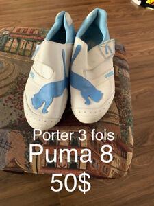 Demenagement Soulier puma taille 8 femme porter 3 fois 50$