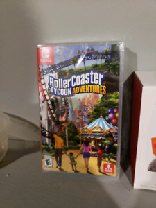 RARE Rollercoaster Tycoon Adventures Switch - New