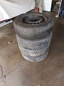 New Motomaster Touring AW/H 205/65R15 With Rims