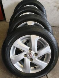 """suzuki alto suzuki splash Genuine 14"""" wheels and Bridgestone tyres"""