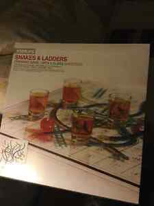 Stokes snakes and ladders drinking game