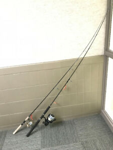2 Shimano Fishing Rods and Reels