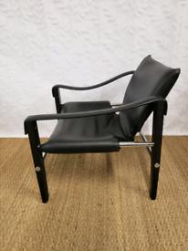 Vintage mid century 70s Arkana safari chair by Maurice Burke