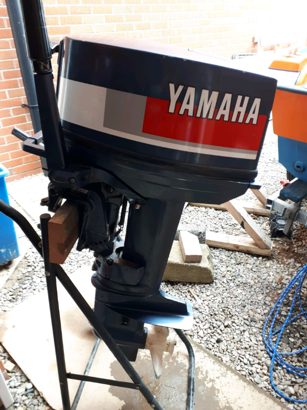 Yamaha 25hp 2 stroke outboard engine | in Ledbury, Herefordshire | Gumtree