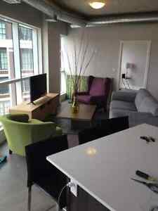 Executive condos UPtown&Downtown..Furnished & un furnished!! Kitchener / Waterloo Kitchener Area image 1