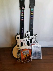 Wii - Rock Band Lot