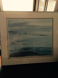 Vancouver Artist--LOW TIDE painting by Jeane Duffy.