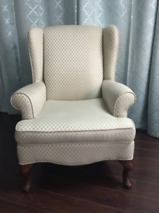 SEARS Traditional Style Wing Chair
