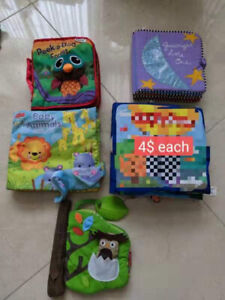 Assorted Soft Baby Books