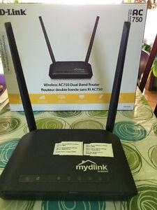 Routeur sans fil Dlink AC750
