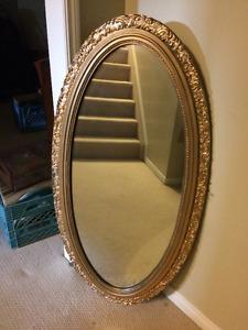 Ornate Antique Wall Mirror
