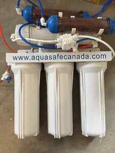 Water filtration system for fish tank