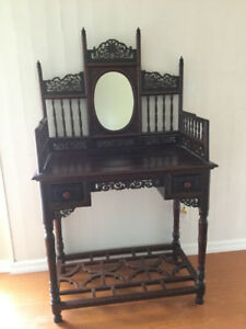 Vintage Vanity Table, rare-find antique