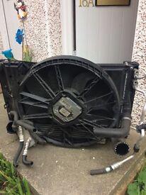 Genuine BMW 3 series e90 complete radiator/intercooler