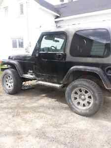 Jeep wrangler 2004 trade for 4x4 truck