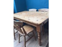 Farmhouse kitchen table SOLD