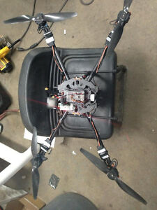 Mapping drone kit ready to fly.