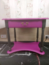 Bedside/side table with draw