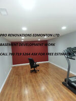$$$ SPECIALISTS IN FINISHED BASEMENT LOW COST COMPLETE RENOS $$$