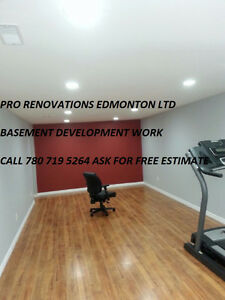 $$$ SPECIALISTS IN FINISHED BASEMENT LOW COST COMPLETE RENOS $$$ Edmonton Edmonton Area image 1