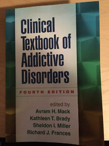 ***CLINICIAL TEXTBOOK OF ADDICTIVE DISORDERS 4th ED***