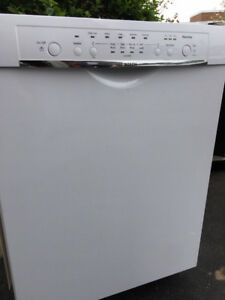 new Bosch diswasher, also 3 other white appliances, $1500 total
