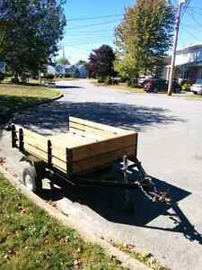 Trailer 6x4 $800obo with NEW 2000lbs axle