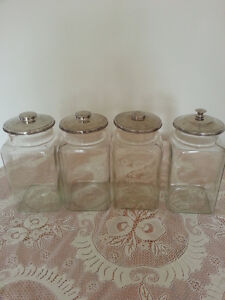 1920's -30's General Dry Goods Store Hard Candy/Tobacco Jars