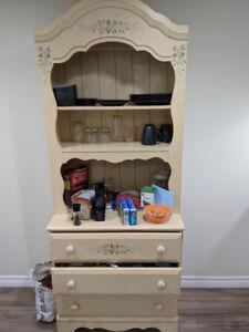 3 piece cabinet and dresser set