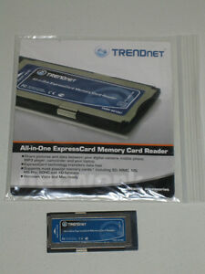 Lecteur mémoire ExpressCard / All-in-One memory card reader