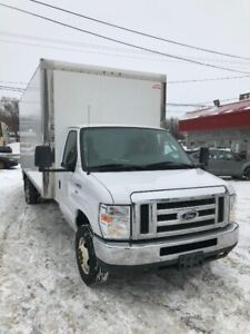 2016 FORD E-450 CUBE 18 PIEDS MONTE-CHARGE