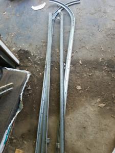 Garage door rails
