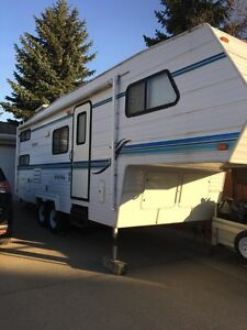 Frontier fifth wheel