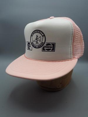Vintage Mesh Adjustable Snapback Hat Cap Cinderella World Series Pepsi Pizza Hut Serie Mesh Cap