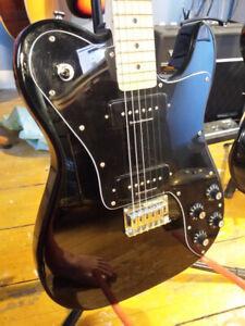 Fender Squire Custom Tele II Guitar