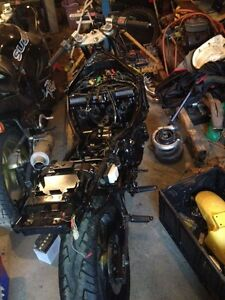 1988 Suzuki katana 600 parts bike.