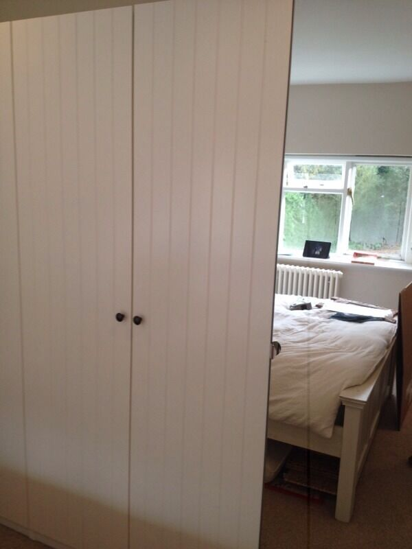 ikea pax double and single wardrobe rrp  u00a3340