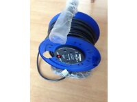25 meter reel LEAD socket heavy duty 3120w.240v