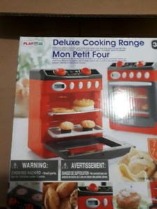 7 piece deluxe cooking  range set