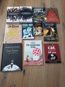 11 Graphic Novels for Sale