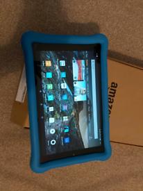 Amazon Fire HD Kids 10inch screen 32GB under warrenty