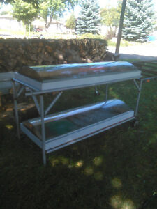 Sprouting table for seedlings or micro greens