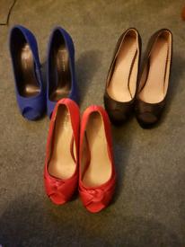 Ladies heels shoes