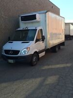 2012 refrigerated cube - sprinter 3500 Chassis