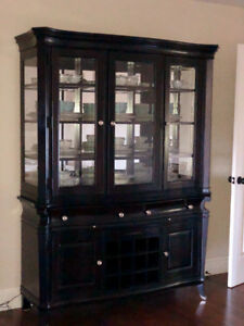 Beautiful black hutch