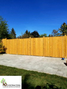 Fence repairs. Post replacement