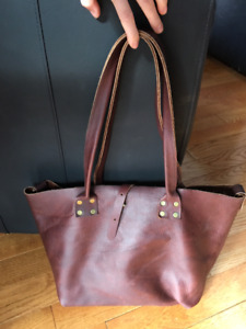 One-Of-A-Kind Genuine Leather Bag
