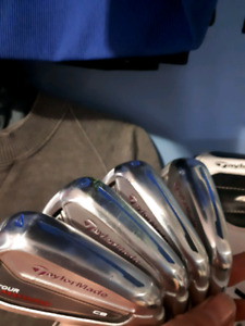 Taylormade Golf Irons KBS shafts