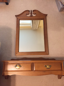 Vilas Mirror and wall table