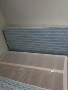 Brand Twin mattress,Box Spring with Frame